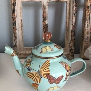 Mackenzie Childs Teapot and Canister